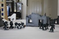 A09 - The Alpha Legion gunline has trouble finding a target.JPG