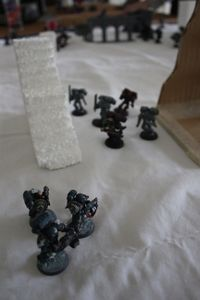 A03 - The Taskforce's Headhunters emerge from the snow, and ready their aim.JPG