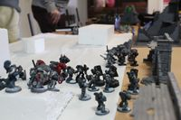 B07 - The breachers move forward to fill the gap created by the assaulting troops, as Halcyon effortlessly deals with the remnants of the 3rd squad of assault marines.JPG