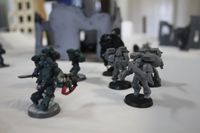 A15 - The Blood Angels burst from cover and engage the gunline, as the Alpha Legion's Veteran moves to assist.JPG